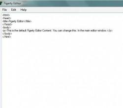 Figerty Editor 1.0.0.1