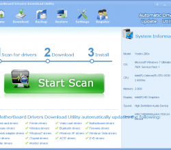 MotherBoard Drivers Download Utility 3.5.5
