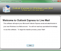Outlook Express to Windows Live Mail 2.2.5.0