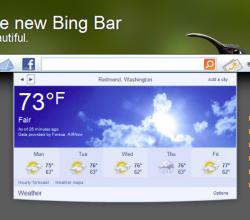 Bing Bar - Mozilla Firefox
