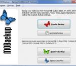 MOBackup - Outlook Backup Software 7.51