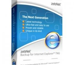 Backup for Internet Explorer