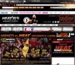 NBA Miami Heat IE Browser Theme 0.9.0.1