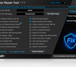 Browser Repair Tool 1.0.39
