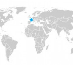 Mini Locator Map of World 3.6