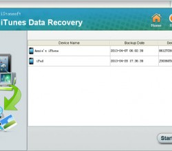 iStonsoft iTunes Data Recovery 2.1.18