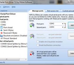 Virtual Serial Port Driver 7.1