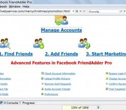 Facebook FriendAdder Pro 3.0.0