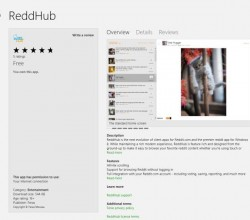 ReddHub for Windows 8
