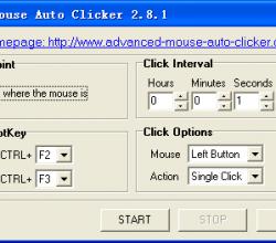 Free Mouse Auto Clicker 3.1