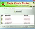 Simple Website Blocker 1.0