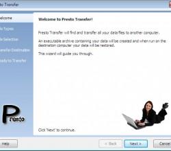 Presto Transfer SeaMonkey 3.29