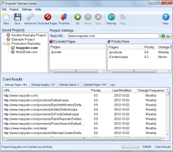 Inspyder Sitemap Creator 4.0.2