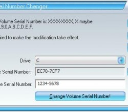 Disk Volume Serial Number Changer 1.80