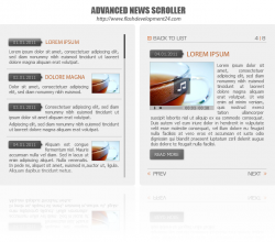 Advanced News Scroller DW Extension 1.0.0