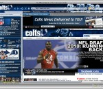 Indianapolis Colts Firefox Theme 1.0