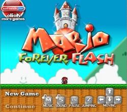 Mario Forever Flash 1.0