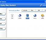 Easy Net Switch 6.7.0