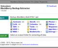 BlackBerry Backup Extractor 1.3.6.0
