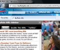 NFL Buffalo Bills IE Browser Theme 0.9.0.1