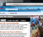NFL Buffalo Bills IE Browser Theme 0.9.0.1