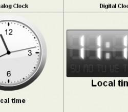 Flash Clock 1.1.0