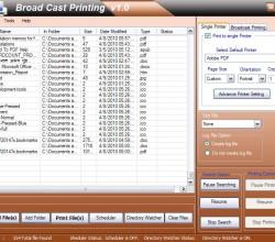 Broadcast Batch Printing 1.0