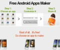 Free Android app maker 1.0