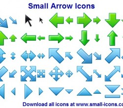 Small Arrow Icons 2013.1