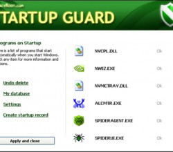 Startup Guard 3.51