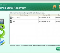 iStonsoft iPod Data Recovery 2.1.3
