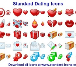 Standard Dating Icons 2013.1