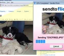 Sendto Flickr 1.0