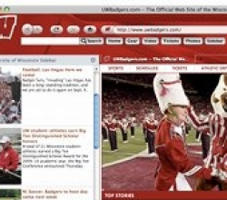 Wisconsin Badgers IE Browser Theme 0.9.0.1