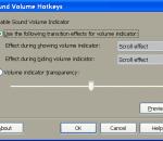 Sound Volume Hotkeys 1.1
