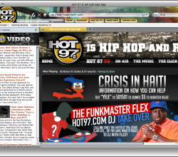 HOT97 Hip Hop Firefox Theme 1.1.3