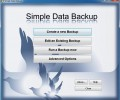 Simple Data Backup 7.0