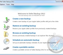 Safari Backup 2012