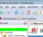 iMacros for Firefox 6.0.1.0