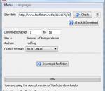 FanFictionDownloader 0.8.0