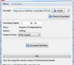 FanFictionDownloader 0.8.0