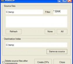 AutoZIP 2.1