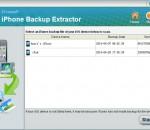 iStonsoft iPhone Backup Extractor 2.1.1