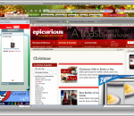 Christmas Firefox Interactive Theme 1.0