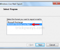 Export from Windows Live Mail to Outlook 2000 4.3