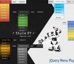 jQuery Menu Plugin Style 07 1.5