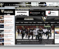NHL Pittsburgh Penguins Hockey Firefox Theme 1.1.2