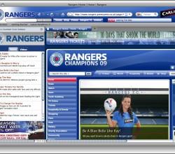 UK Rangers FC Theme for Firefox 1.0.2