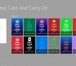 Keep Calm for Win8 UI