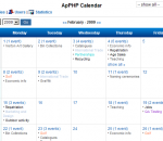 ApPHP Events Calendar Web Control 3.5.7